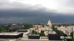 METEO ROMA: mercoledì possibili veloci TEMPORALI, poi bel tempo