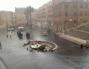 METEO ROMA: piovoso giovedì, maltempo più intenso venerdì, ancora qualche piovasco sabato