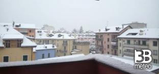 Neve e gelicidio su parte del Nord, situazione