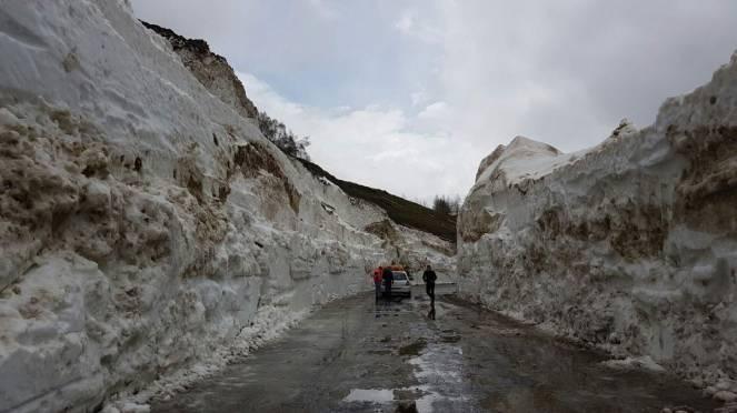 Accumuli di neve incredibili sulle Alpi sopra i 2000m