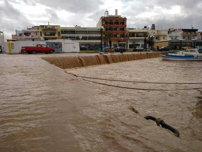Alluvione a Creta. Foto: Giannis Fountoulakis