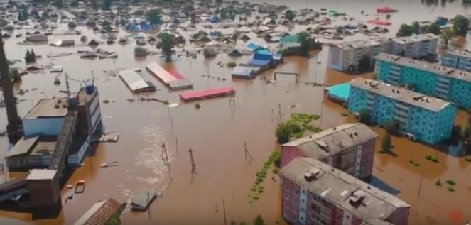 Alluvione a Tulun - Siberia