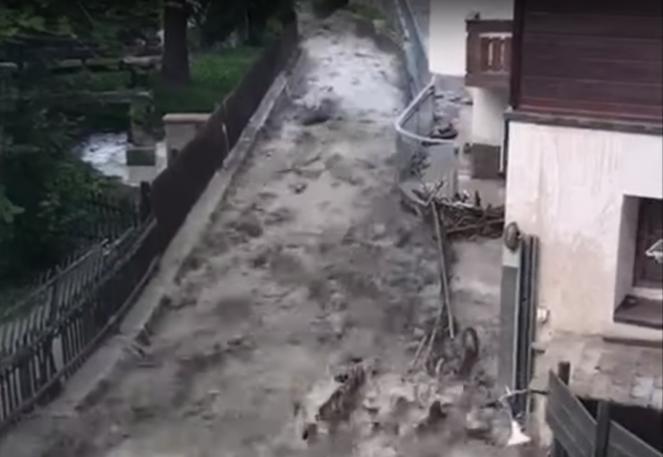 Alluvione a Zermatt
