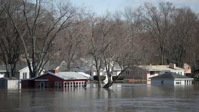 Alluvione storica in Nebraska