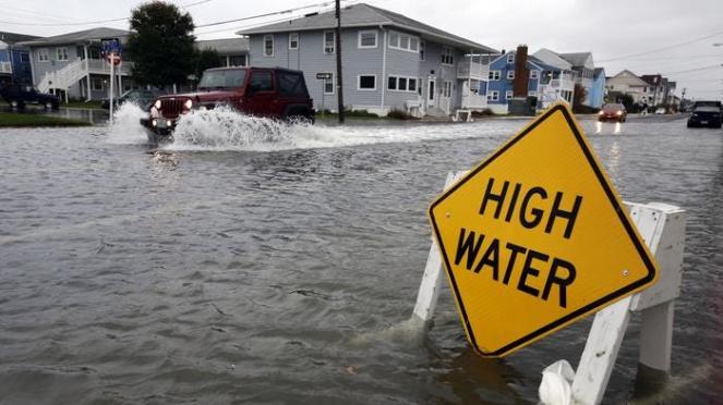 Alluvioni costiere più frequenti dal 2030