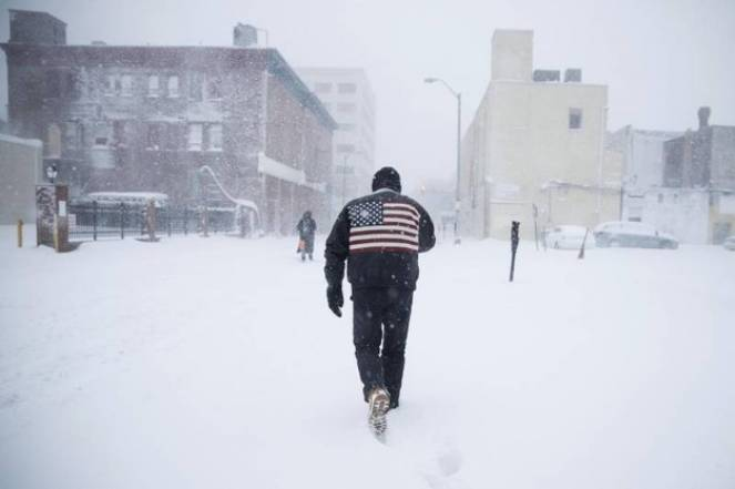 Anche New York paralizzata dalla neve. Fonte ANSA