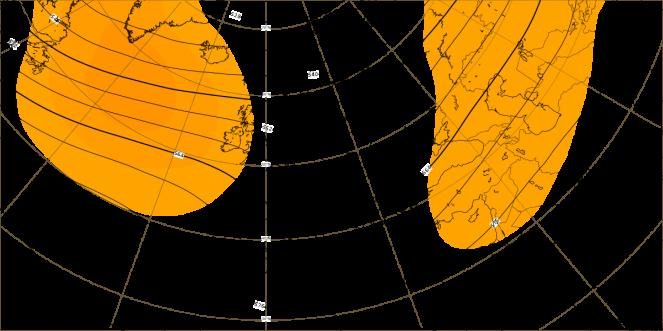 anomalie altezza di geopotenziale a 500 hpa (dati ECMWF)