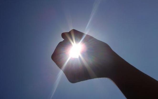 Attenzione ai raggi UV, già piuttosto elevati!