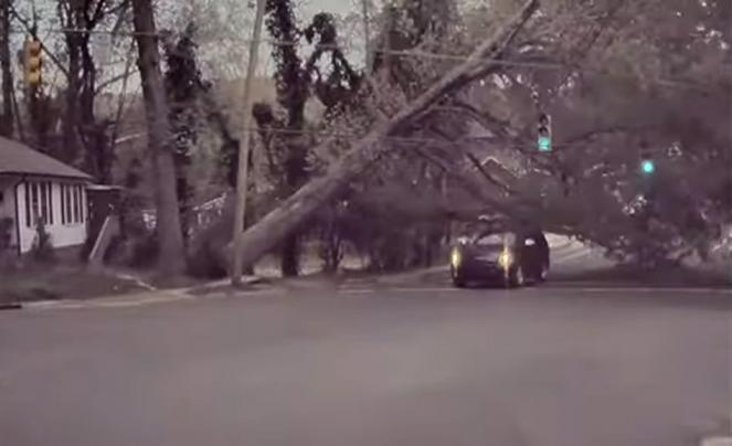 Auto si salva dallo schianto per pochi millesimi di secondo
