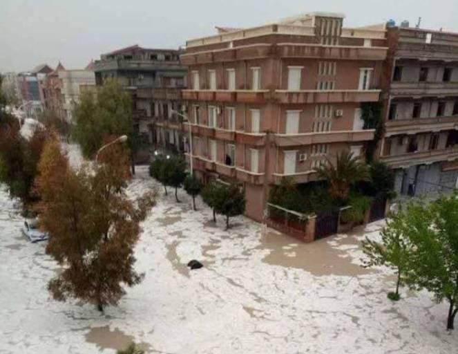 Batna - Alluvioni lampo in Algeria