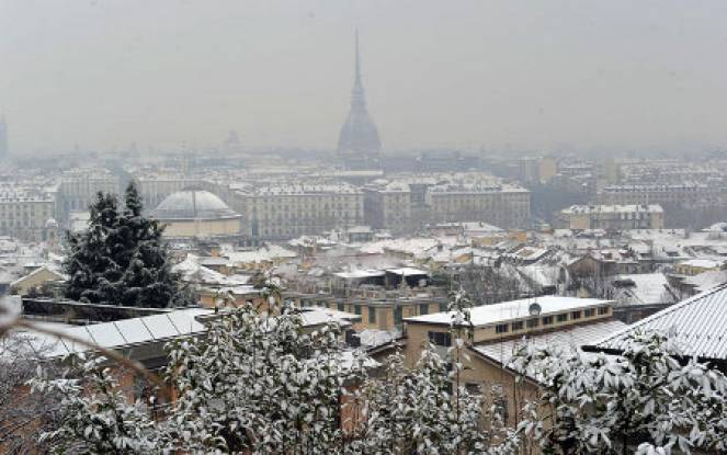 Arriva la neve Torino