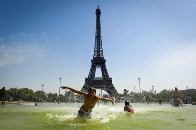 Caldo a Parigi