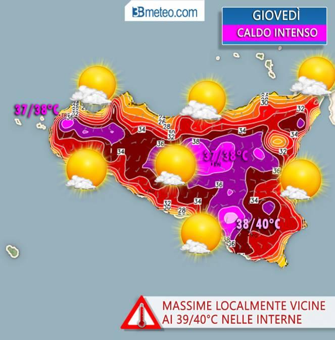 caldo africano in Sicilia