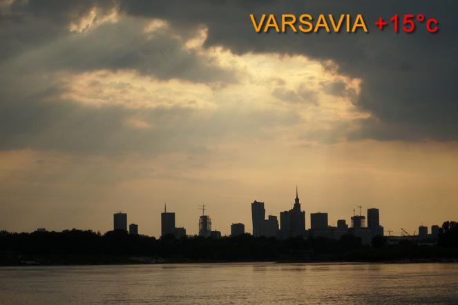 Caldo anomalo sull'Europa orientale e nord orientale