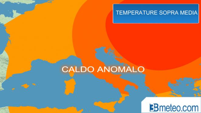 Caldo anomalo sull'Italia