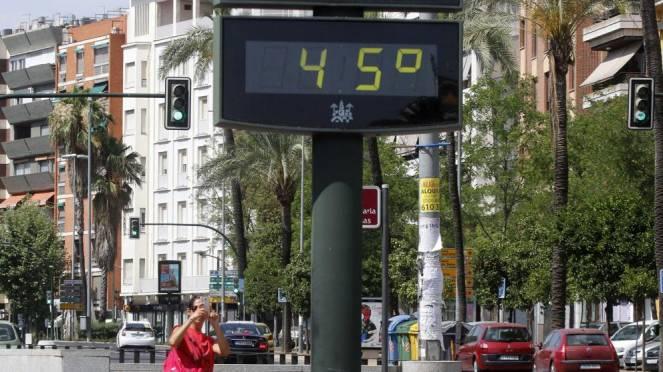 Caldo estremo, raggiunti i 45° tra Spagna e Portogallo