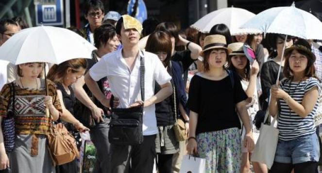 Caldo record in Giappone,22mila ricoveri
