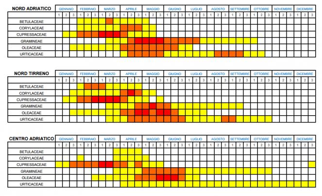 Calendario pollini (c)