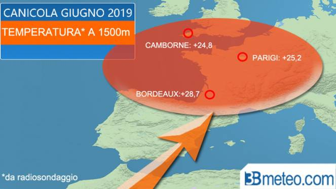Temperature record mai registrate prima: l'ondata di caldo in Europa