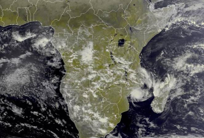 Chalane, immagine satellite