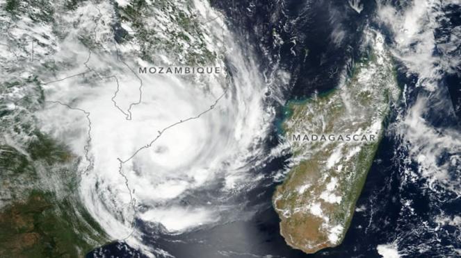 ciclone Eloise sul Mozambico