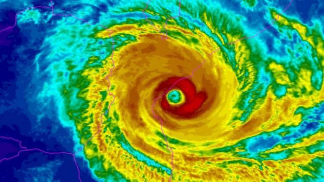 ciclone Idai sul Mozambico