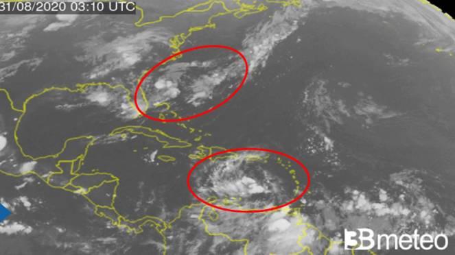 Cicloni: situazione in Atlantico con alcune onde da monitorare