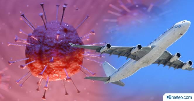 Coronavirus: traffico aereo ridotto, impatto sulle previsioni meteo