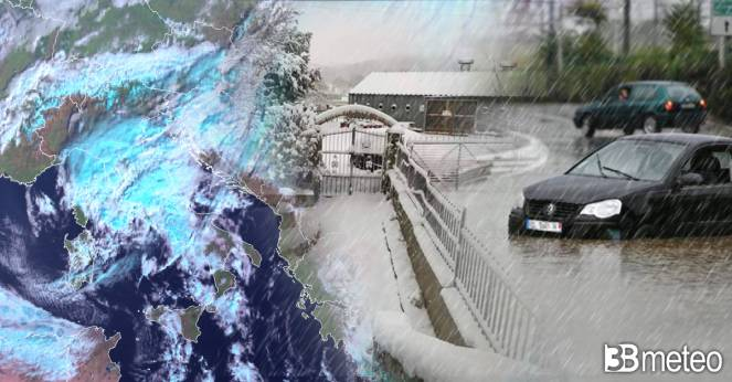 Cronaca meteo, forte maltempo su parte d Italia