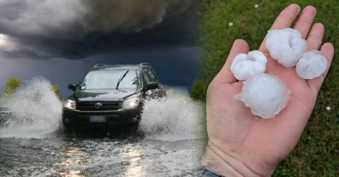 Cronaca meteo, forti temporali tornano a colpire il nord, anche grandine