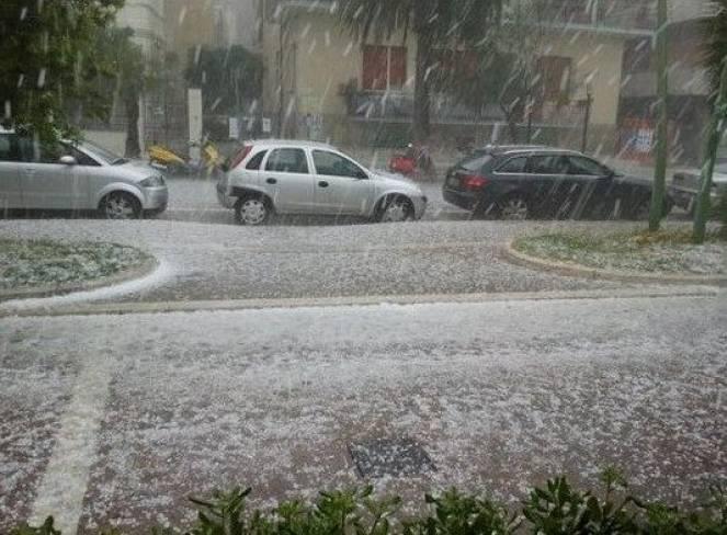 Cronaca meteo: maltempo e grandine in Piemonte