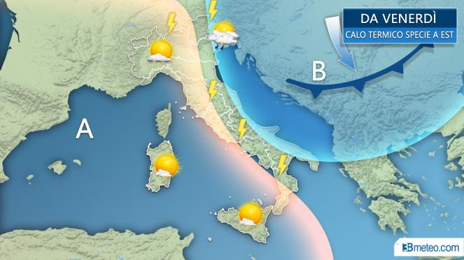 Meteo: settimana di super caldo africano con punte oltre i 40°C