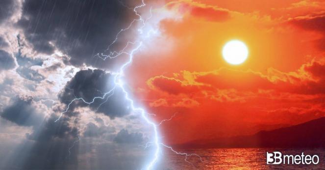Dal gran caldo a veloce instabilità; più corposa su alta Toscana