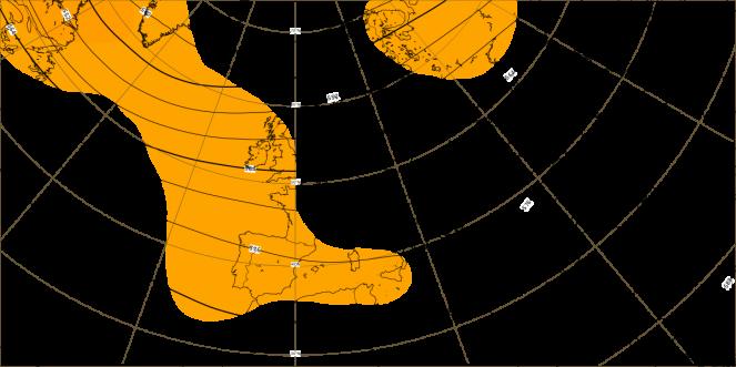 Dati ECMWF: anomalia altezza di geopotenziale a 500 hPa per la seconda decade di ottobre