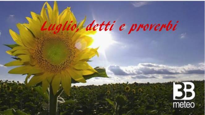 detti e proverbi del mese di Luglio