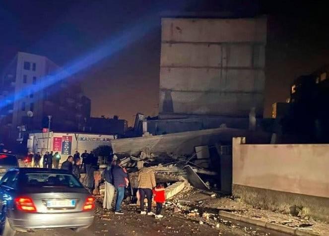 Devastante terremoto in Albania