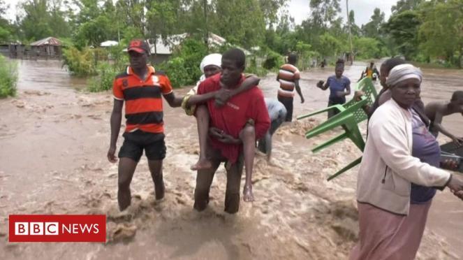 Devastanti alluvioni colpiscono l Africa orientale (fonte BBC)
