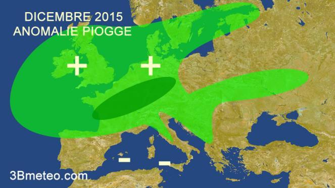 Dicembre, piogge