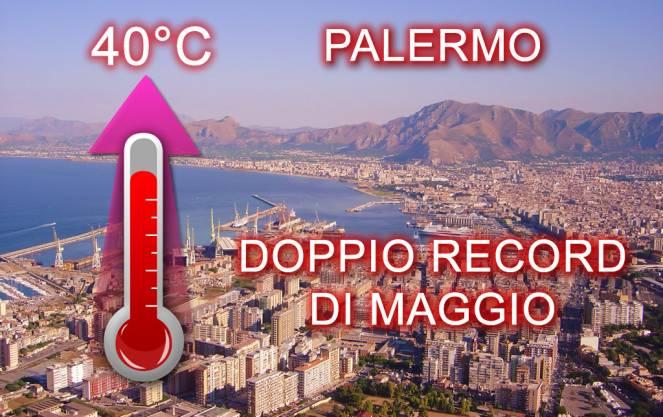 Doppio record di maggio per la città di Palermo