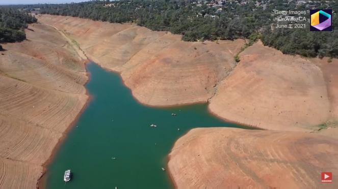 Drammatica siccità colpisce la California