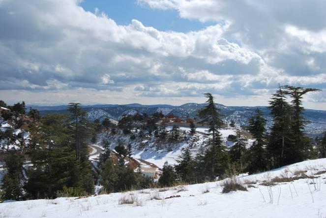 E la neve è arrivata anche in Algeria