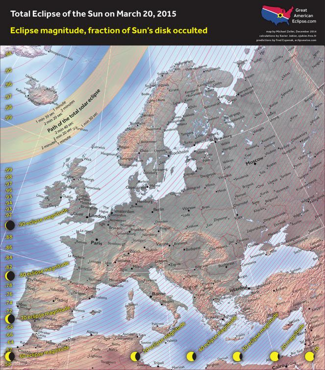 Eclissi in Europa
