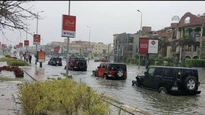 Egitto, ondata di maltempo