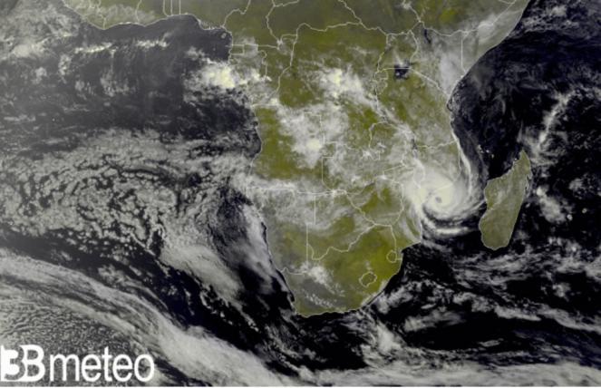 Eloise verso il Mozambico
