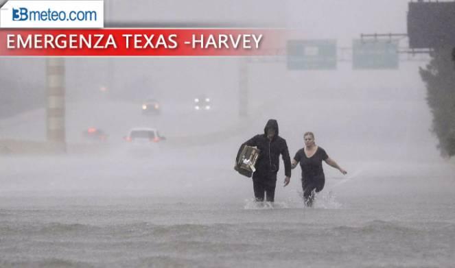 Harvey: a Houston imposto coprifuoco contro sciacallaggi