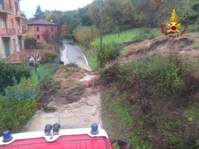 Emergenza maltempo in Emilia Romagna (fonte foto Ansa)
