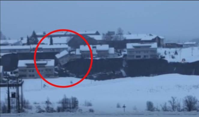 Frana travolge un villaggio in Norvegia, feriti e dispersi