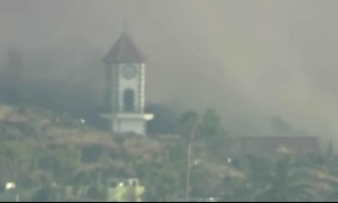 Diretta VIDEO da La Palma - CUMBRE VIEJA, ERUZIONE INARRESTABILE, la lava inghiotte anche la chiesa di Todoque