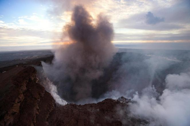 Terremoto alle Hawaii dopo l'eruzione del vulcano Kilauea