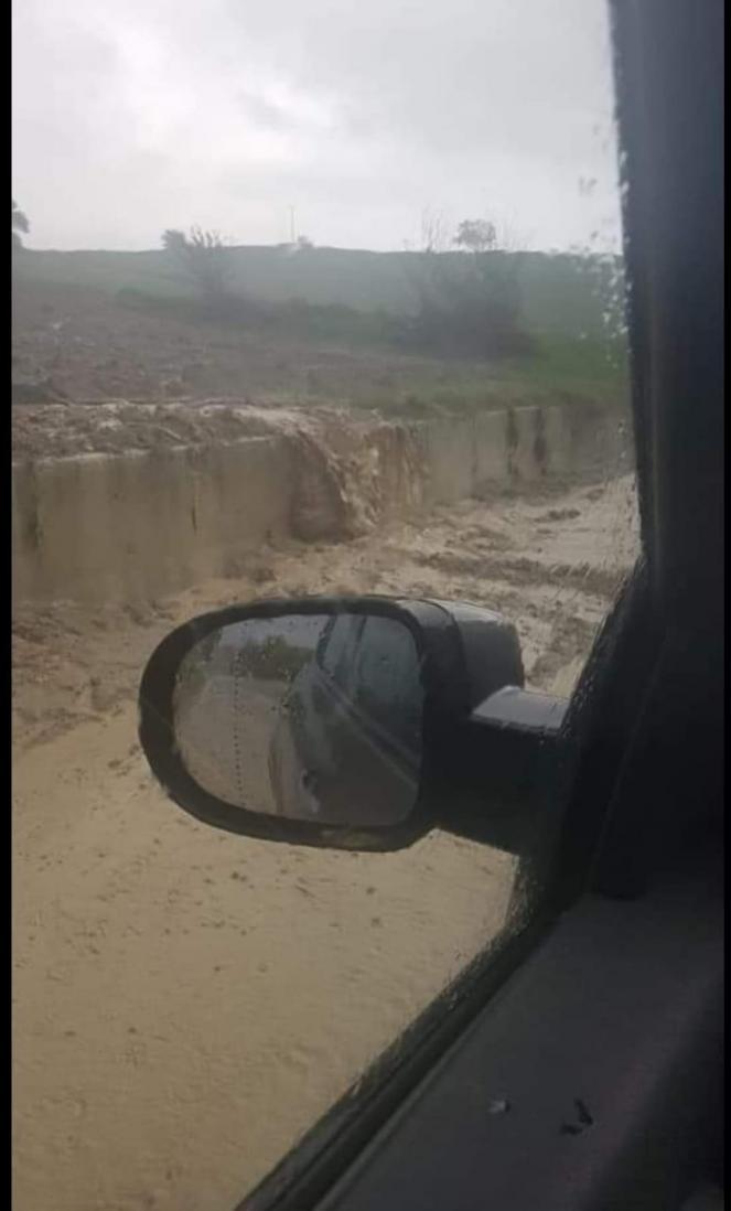 Esondazioni a Scansano, basso grossetano. Fonte Protezione Civile Manciano